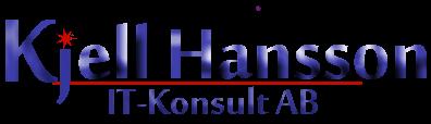 KjellHanssonIT-konsultAB